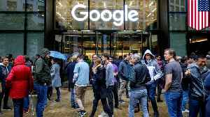 News video: Google workers stage global protest over women's treatment