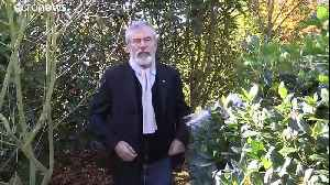 The peas process: Gerry Adams on the recipes for negotiating success [Video]