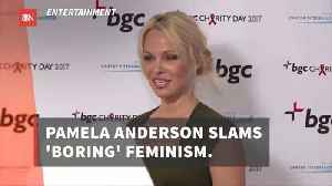 Pamela Anderson Is Not Willing To Say