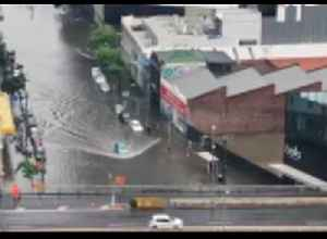 Heavy Rains Leave Melbourne Flooded on Race Day [Video]