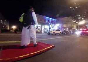 New Jersey Man Goes Viral for 'Flying' Magic Carpet as Aladdin [Video]