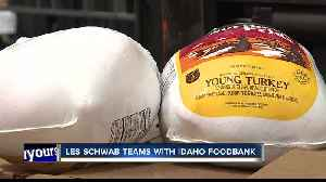 Les Schwab teams up with Foodbank for annual turkey drive [Video]