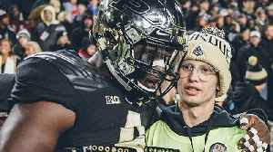 Purdue Student With Cancer Tyler Trent Inspires Upset Over Ohio State