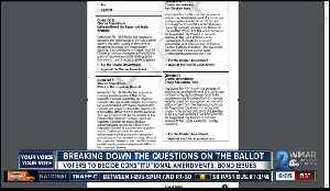 Breaking down the questions on your ballot [Video]