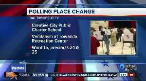 Voters redirected to new poll station [Video]
