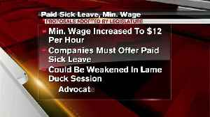 Advocates want paid sick time law left as is [Video]