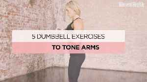 5 Dumbbell Exercises To Tone Your Arms From Sarah Lindsay of Roar Fitness [Video]