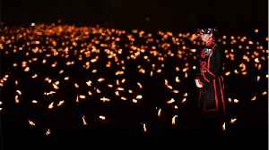 Tower of London Moat Lit With 10,000 Torches To Honor Those Who Died In WWI [Video]