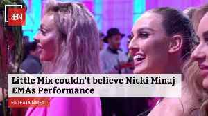 Nicky Minaj Puts On A Show At EMA's [Video]