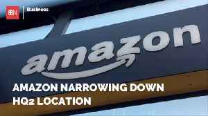 News video: Amazon Is About To Make A Big Announcement For HQ2