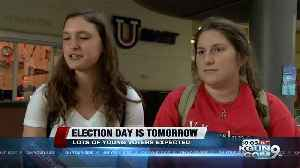 How University of Arizona students feel about the election [Video]