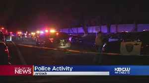Antioch Police Officer Shot; Suspect At Large [Video]
