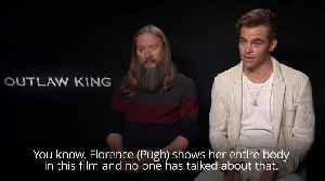 Chris Pine unsure over reaction to full frontal nudity [Video]