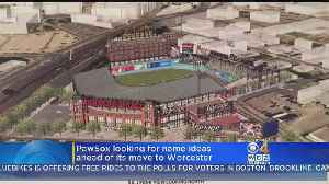 WooSox? Pawtucket Red Sox, Now In Worcester, Taking Suggestions For New Team Name [Video]