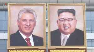 North Korea Unveils Possible First Portrait of Kim Jong Un [Video]