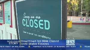 Downtown Sacramento Ice Rink Cooling Element Fails [Video]