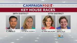 Congressional Races Could Tip Balance In US House [Video]