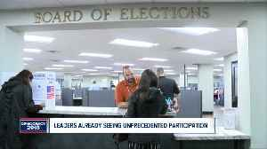 Local leaders already seeing surge from absentee voters [Video]