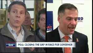 Poll: closing the gap in race for New York governor [Video]