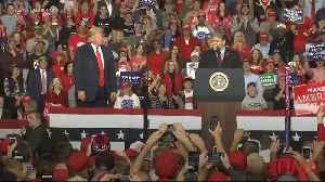 Sean Hannity Speaks at a Trump Rally On the Eve of the Midterm Elections [Video]