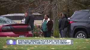 News video: Woman hospitalized after attempted murder-suicide at Sterling Heights business