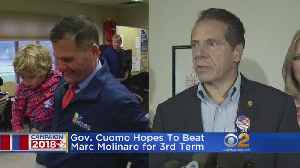 Cuomo Hoping To Beat Molinaro For Third Term [Video]