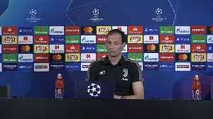 Allegri keen to see Ronaldo score for Juve in Champions League [Video]