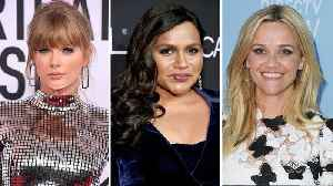 Taylor Swift, Reese Witherspoon & More Share They Voted in 2018 Midterm Elections   THR News [Video]