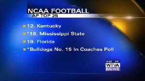 Bulldogs move up in both polls [Video]