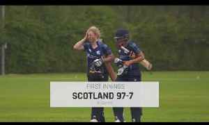 THAILAND V SCOTLAND ICCWT20Q HIGHLIGHTS [Video]