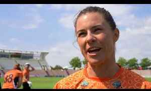 Kia Super League interviews with Charlotte Edwards, Tammy Beaumont and Suzi Bates [Video]