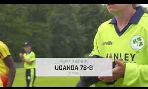 IRELAND V UGANDA ICCWT20Q HIGHLIGHTS [Video]