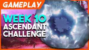 Fortnite Week 4 Challenge Guide Dance On Clock Tower Pink Tree