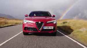 Alfa Romeo Stelvio Quadrifoglio Driving Video [Video]