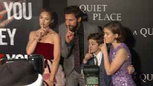 John Krasinski's deaf co-star helped him to make 'A Quiet Place' extra special [Video]