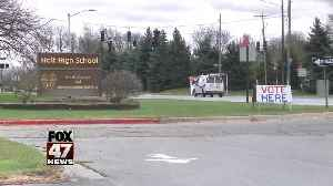 Parents call school doubling as polling place a safety hazard [Video]