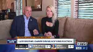 Dennis Hof wins election one month after his death [Video]