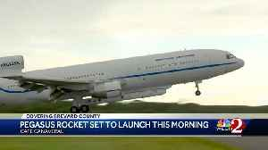 Pegasus rocket set to launch from Cape Canaveral [Video]