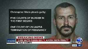 Chris Watts reaches plea deal to avoid death penalty in deaths of pregnant wife, 2 daughters [Video]