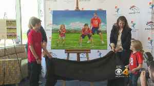 Children's Hospital Patients Reveal Special Mural [Video]
