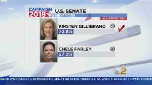 News video: Sen. Gillibrand Cruises To Victory In New York