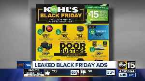 News video: Black Friday ads released early for major retailers