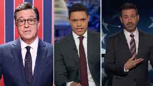 Late-night laughs: The midterm election [Video]