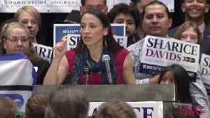 Sharice Davids to Become First Gay Native American Woman Elected to the House [Video]