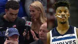 News video: Jimmy Butler Chartered A Plane For Tyus Jones So He Could See His Brother Tre's Duke Debut