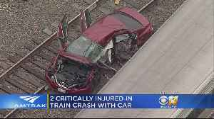 2 Seriously Hurt In Crash Involving Amtrak Train And Vehicle In Fort Worth [Video]