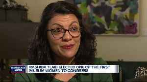 Rashida Tlaib elected on of the first Muslim women to Congress [Video]