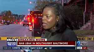 Residents evacuated after gas leak in Southwest Baltimore [Video]