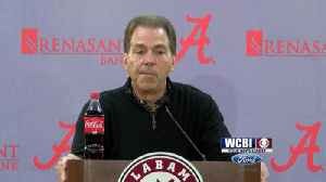 Saban Expects Challenging Match-Ups From MSU [Video]