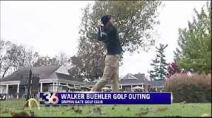 Walker Buehler holds charity golf outing [Video]